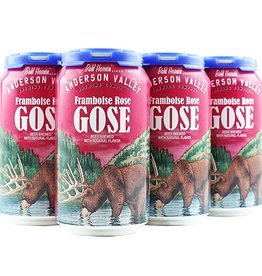 Anderson Valley Anderson Valley Framboise Rose Gose Cans  6 pack 12 oz