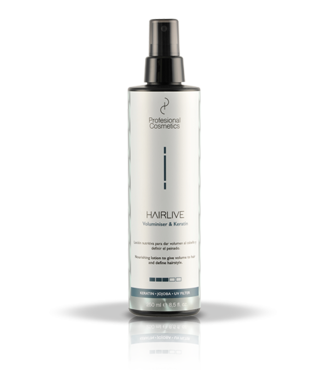 Profesional  Cosmetics HAIRLIVE Volumizer & Keratin 250ml