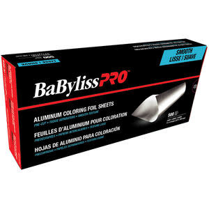BABYLISS SMOOTH-TEXTURE PRE-CUT FOIL SHEETS LIGHT , 5 X 12 IN