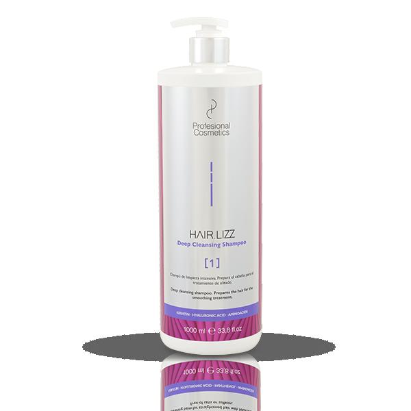 Profesional Cosmetics HAIR.LIZZ 1 Deep Cleansing Shampoo 1 liter