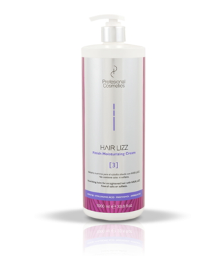 Profesional Cosmetics HAIR.LIZZ 3 FINISH MOISTURIZING CREAM 1 liter