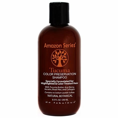 Amazon Series Tucuma Colour Preservation Shampoo  250ml