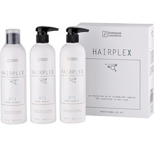 HAIRPLEX Kit 1x N°1 500ml, 2x N°2 500ml