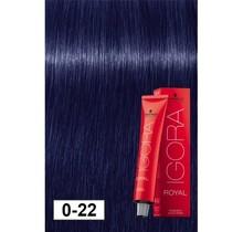 0-22 Violet Blue Concentrate 60g - Igora Royal by Schwarzkopf