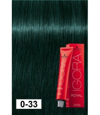 0-33 Anti-Red Concentrate 60g - Igora Royal by Schwarzkopf