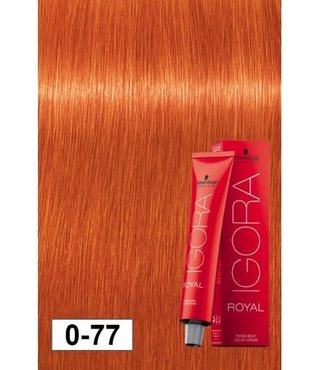 0-77 Orange Concentrate 60g - Igora Royal by Schwarzkopf