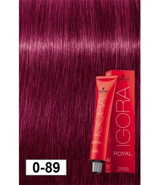 0-89 Red Violet Concentrate 60g - Igora Royal by Schwarzkopf