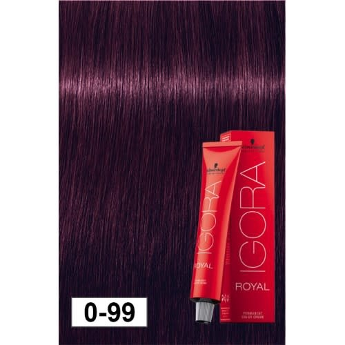 0-99 Dark Violet Concentrate 60g - Igora Royal by Schwarzkopf