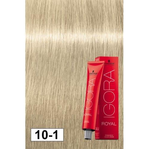 10-1 Ultra Light Ash Blonde HighLift 60g - Igora Royal by Schwarzkopf