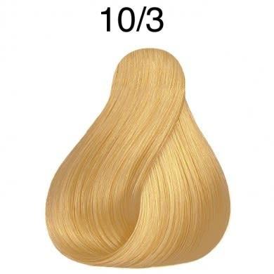 Color Touch 10/3 Lightest Blonde/Gold Demi-Permanent Hair Colour 57g