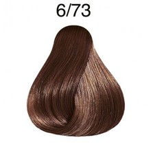 Color Touch 6/73 Dark Blonde/Brown Gold Demi-Permanent Hair Colour 57g
