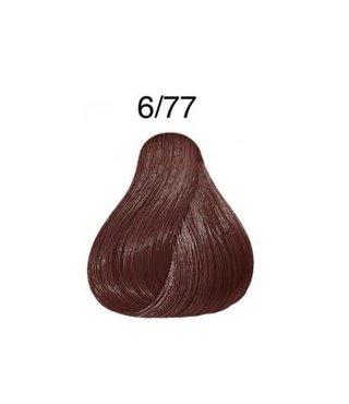 Color Touch 6/77 Intense Dark Blonde Brown Demi-Permanent Hair Colour 57g