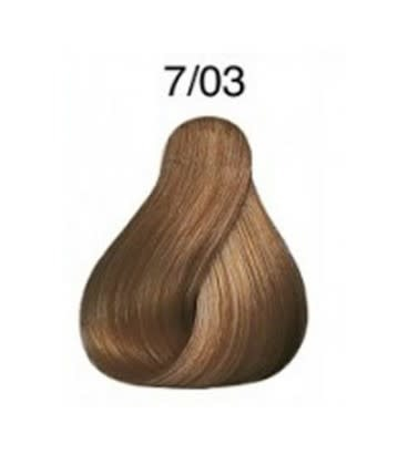 Color Touch 7/03 Medium Blonde Natural Gold Demi-Permanent Hair Colour 57g