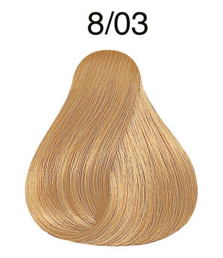 Color Touch 8/03 Light Blonde/Natural Gold Demi-Permanent Hair Colour 57g