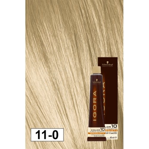 11-0 Color10 Speed Lift Natural 60g - Igora Color10 by Schwarzkopf