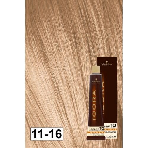 11-16 Color10 Speed Lift Ash Auburn Blonde 60g - Igora Color10 by Schwarzkopf