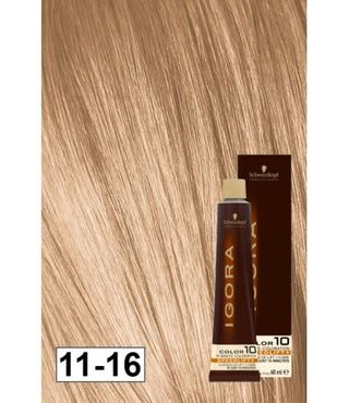 11-16 Color10 Speed Lift Ash Auburn Blonde 60g - Igora Color10 by Schwarzkopf