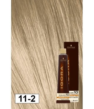 11-2 Color10 Speed Lift Smokey Blonde 60g - Igora Color10 by Schwarzkopf