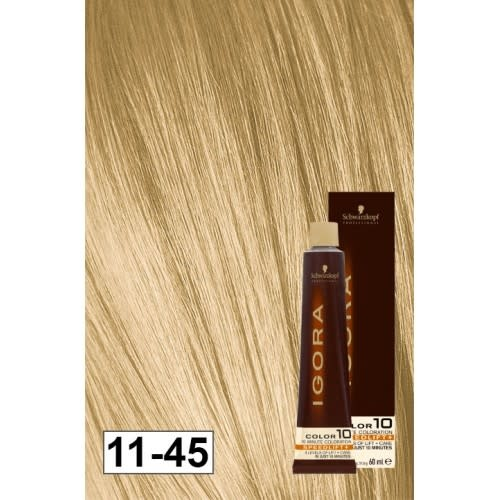 11-45 Color10 Super Blonde Beige Gold Speed Lift 60g - Igora Color10 by Schwarzkopf