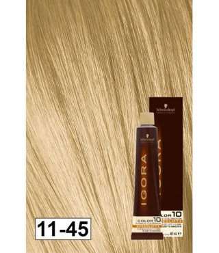 11-45 Color10 Super Blonde Beige Gold Speed Lift 60g - Igora Color10 by Schwarzkopf