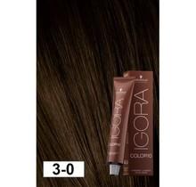 3-0 Color10 Dark Natural Brown  60g - Igora Color10 by Schwarzkopf