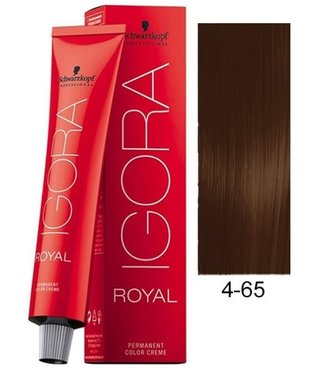 4-65 Color10 Medium Brown Auburn Gold  60g - Igora Color10 by Schwarzkopf