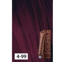 4-99 Color10 Medium Brown Violet Extra  60g - Igora Color10 by Schwarzkopf