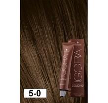 5-0 Color10 Natural Light Brown  60g - Igora Color10 by Schwarzkopf