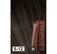5-12 Color 10 Light Ash Smokey Brown 60g - Igora Color10 by Schwarzkopf