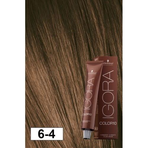 6-4 Color10 Dark Blonde Beige  60g - Igora Color10 by Schwarzkopf