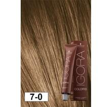 7-0 Color10 Medium Natural Brown  60g - Igora Color10 by Schwarzkopf
