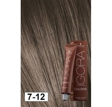 7-12 Color10 Medium Ash Smokey Blonde  60g - Igora Color10 by Schwarzkopf