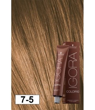7-5 Color10 Medium Blonde Beige Gold  60g - Igora Color10 by Schwarzkopf
