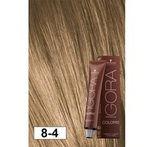 8-4 Color10 Light Blonde Beige  60g - Igora Color10 by Schwarzkopf
