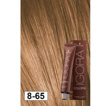 8-65 Color10 Light Blonde Auburn Gold  60g - Igora Color10 by Schwarzkopf