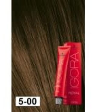 5-00 Medium Brown Extra 60g - Igora Royal by Schwarzkopf