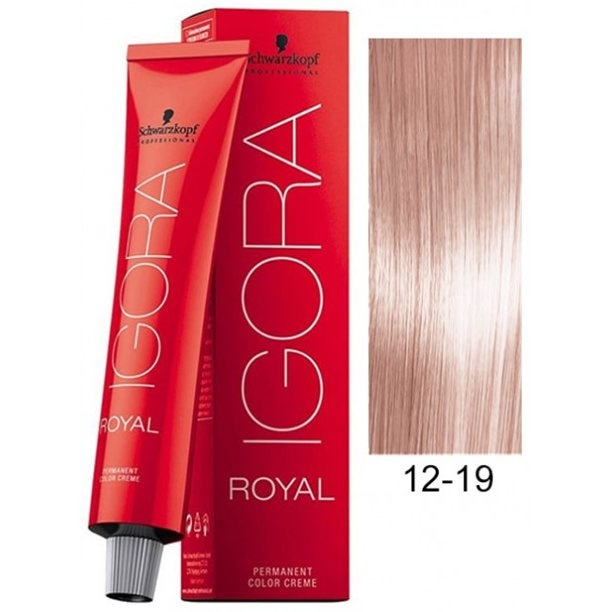 12-19 Special Blonde Cendre Violet HighLift 60g - Igora Royal