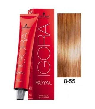 8-55 Light Blonde Gold Extra 60g - Igora Royal by Schwarzkopf