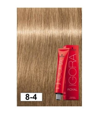 8-4 Light Beige Blonde 60g - Igora Royal by Schwarzkopf