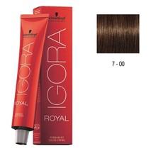 7-00 Medium Blonde Natural Extra 60g - Igora Royal by Schwarzkopf