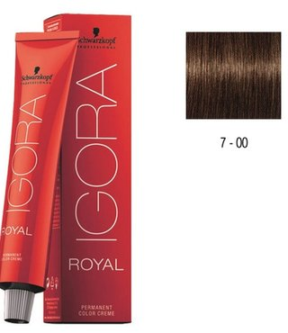 7-00 Medium Blonde Natural Extra 60g - Igora Royal by Schwarzkopf