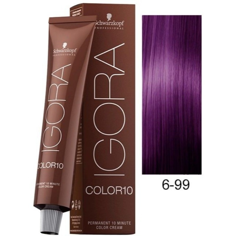 6-99 Dark Blonde Violet Extra 60g - Igora Royal by Schwarzkopf