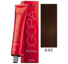 6-63 Dark Blonde Chocolate Matte 60g - Igora Royal by Schwarzkopf