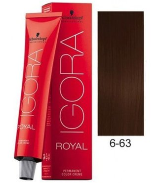 6-63 Dark Blonde Chocolate Matte 60g - Igora Royal by Schwarzkopf