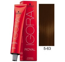 5-63 Light Brown Chocolate Matte 60g - Igora Royal by Schwarzkopf