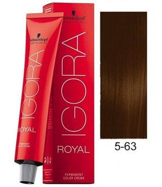 5-63 Light Brown Chocolate Matte 60g - Igora Royal by Schwarzkopf