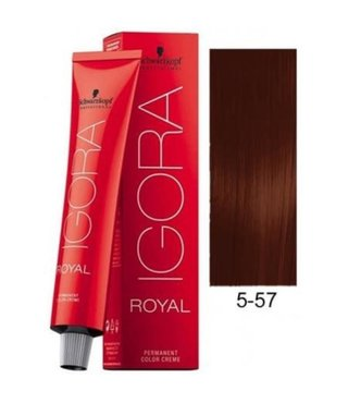 5-57 Light Brown Copper Gold 60g - Igora Royal by Schwarzkopf