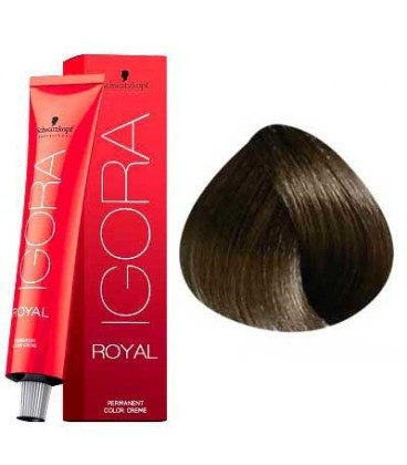 5-4 Light Brown Beige 60g - Igora Royal by Schwarzkopf