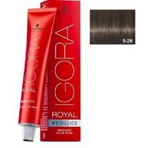 5-26 Light Brown Ash Cocolate 60g - Igora Royal by Schwarzkopf