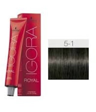 5-1 Light Brown Ash 60g - Igora Royal by Schwarzkopf
